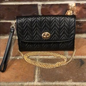 COACH Quilted Leather Crossbody and Wristlet